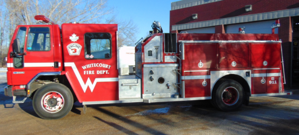 *For Sale* 1990 Ford 8000 Single Axle Diesel Pumper