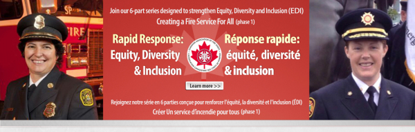 CAFC Presents: Rapid Response in Equity, Diversity, and Inclusion (EDI): Creating a Fire Service for All Program