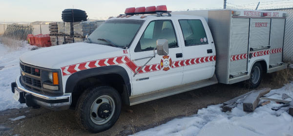 *For Sale* 1998 Chev 3500 4WD Crew Cab 1 Ton Rescue Vehicle